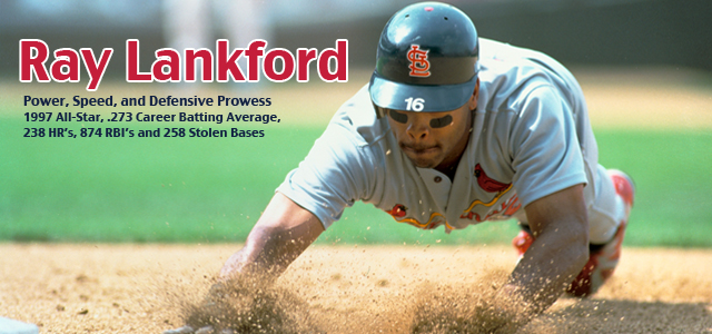 Banner Img on Ray Lankford St Louis Cardinals